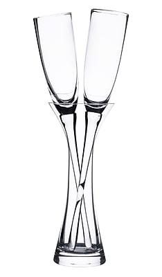 Lillian Rose Long Stemmed Toasting Glasses with Vase (G200) 2621826