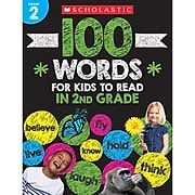 Scholastic 100 Words For Kids To Read In 2nd Grade, Pack of 3 (SC-832311BN)