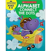 Scholastic Little Skill Seekers: Alphabet Connect the Dots for Ages 4-6, Pack of 6 (SC-830634BN)