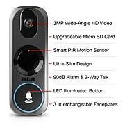 RCA HSDB2A 3MP Wifi Video Doorbell Camera