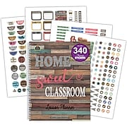 Teacher Created Resources Home Sweet Classroom Lesson Planner, Pack of 2 (TCR8294BN)