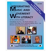 Educational Activities Integrating Music and Movement with Literacy DVD (ETADVD804)