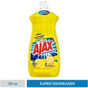 Ajax Super Degreaser Dish Soap Liquid, Lemon Scent (44673)