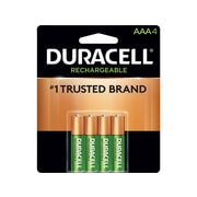 Duracell NiMH Battery, AAA, 4 Pack (062170)