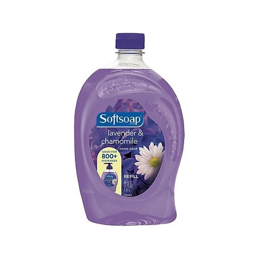Softsoap Hand Soap Refill, Lavender & Chamomile, 56 Oz. (US04179A)
