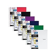 """Five Star 5-Subject Notebook, 8.5"""" x 11"""", College Ruled, 200 Sheets, Assorted Colors (06112/06208)"""