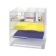 Rubbermaid Optimizers File Organizer, Clear Plastic (94600ROS)
