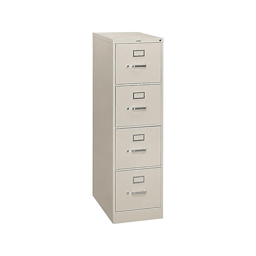 Super Hon S380 4 Drawer Vertical File Cabinet Locking Letter Light Gray 26 5D Hs384Pq Home Interior And Landscaping Transignezvosmurscom