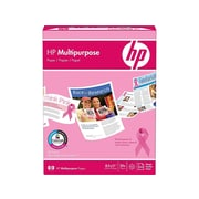 "HP 8.5"" x 11"" Multipurpose Paper, 20 lbs, 96 Brightness, White, 500/Ream (206230)"
