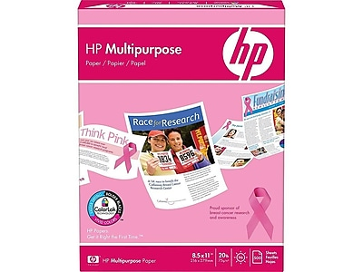"HP 8.5"" x 11"" Multipurpose Paper, 20 lbs, 96 Brightness, 500/Ream (206230)"