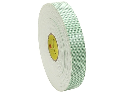 200 Volts Dielectric Strength 4 Length 4 Width 3M 4026 CIRCLE-4-100 Natural Polyurethane Double Coated Foam Tape 4 Width Pack of 100 4 Length 3M 4026 CIRCLE-4-100 Pack of 100