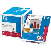 "HP 8.5"" x 11"" Multipurpose Paper, 20 lbs, 96 Brightness, 500/Ream, 5 Reams/Carton (115100)"