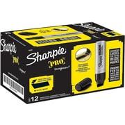 Sharpie PRO Magnum Permanent Marker, Jumbo Chisel Point, Black, Dozen (SAN44001BX)