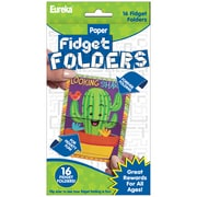 Eureka Fidget Folders, A Sharp Bunch, 16 Per Pack, 6 Packs (EU-872001BN)