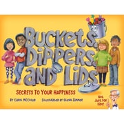 Barefoot Books Buckets, Dippers, and Lids: Secrets to Your Happiness, Pack of 3 Books (9781945369018BN)