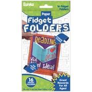 Eureka Fidget Folders, Reading Puns, 16 Per Pack, 6 Packs (EU-872005BN)