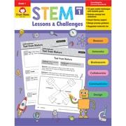 Evan-Moor STEM Lessons & Challenges, Grade 1, Pack of 2 (EMC9941BN)