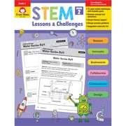 Evan-Moor STEM Lessons & Challenges, Grade 2, Pack of 2 (EMC9942BN)