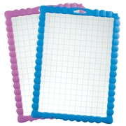 Maped Transparent Dry Erase Kidy'Board School, Gridded, Pack of 30 (MAP583711)