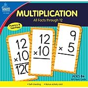 Carson-Dellosa Multiplication All Facts through 12 Flash Cards, 170/Set (134055)