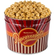 Popcornopolis Gourmet 2 Gallon Tin, Caramel (DS1370)
