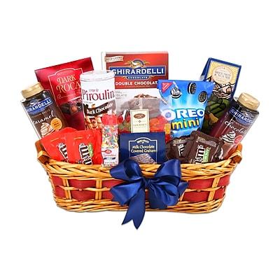 Alder Creek Gift Baskets The Ultimate Ice Cream Sundae Gift Basket (FG09854)