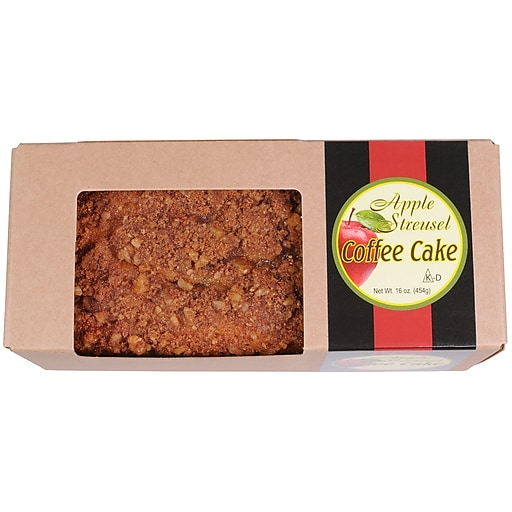 Beatrice Bakery Apple Streusel Coffee Cake Bar (DS0445)