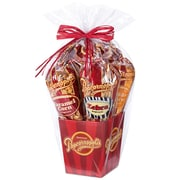 Popcornopolis Gourmet 5 Cone Gift Basket (DS1368)