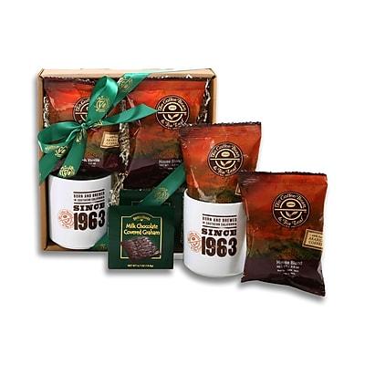 Image of Alder Creek Gift Baskets Coffee Bean & Tea Leaf Coffee Sampler Gift Box (FG08835)