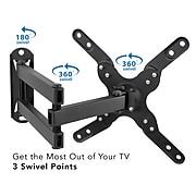 "Mount-It! Full Motion TV Mount for 20-43"" Displays (MI-2042L)"