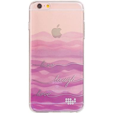 Watercolor Prints TPU Skin Case for iPhone 6 / 6S Plus, Live Laugh Love (APLSKN437)