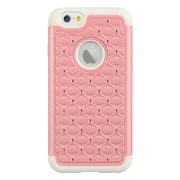 Elegant Diamond Back Cover with Additional Silicone Skin for Apple iPhone 6 / 6s (APLCRC732)