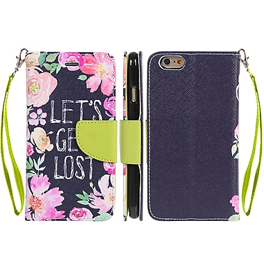 Design Wallet Stand Case for iPhone 6 / 6S (APLLEA002)