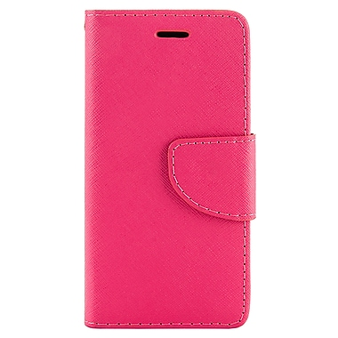Wallet Stand Case for iPhone 6 Plus, Pink (APPLEA307)