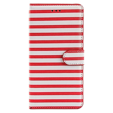 Wallet Stand Case for iPhone 6 Plus, Pink (APPLEA305)