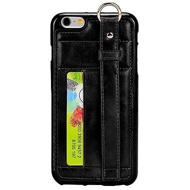 Credit Card Wallet Case for iPhone 6s, Kickstand, Black (APLLEA753)