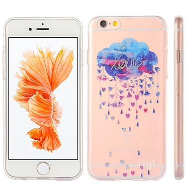Watercolor Prints TPU Skin Case for iPhone 6 Plus / 6S Plus, Silver Lining (APLSKN452)