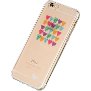 Watercolor Prints TPU Skin Case for iPhone 6 / 6S, Love me always (APLSKN433)