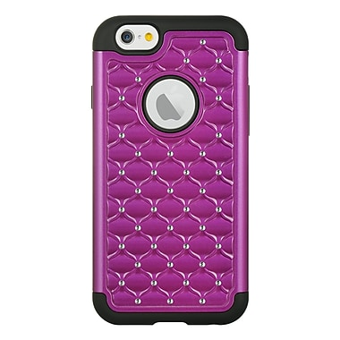 Elegant Diamond Back Cover with Additional Silicone Skin for Apple iPhone 6 / 6s (APLCRC737)