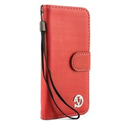 Vangoddy Wallet Stand Leather Case for iPhone 6 / 6s, Pink (APLLEA302)