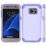 Dual Hybrid Case for Galaxy S7 Edge, Lavender (SAMCRC740)