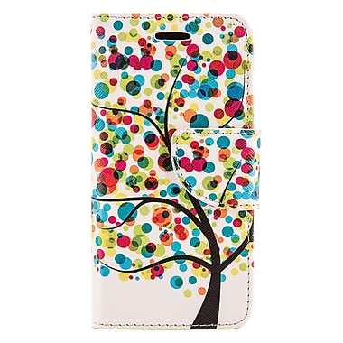 Design Wallet Stand Case for iPhone 6 / 6s, Rainbow Tree (APLLEA653)