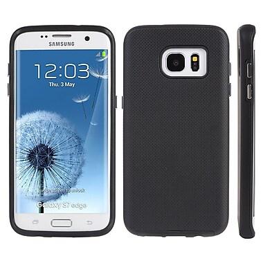 Anti Slip Hybrid TPU Case for Galaxy S7 Edge, Black (SAMCRC745)