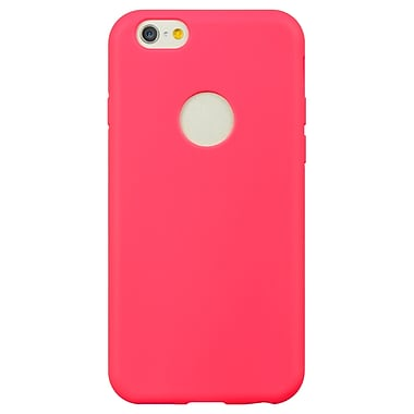 TPU Skin Cover With Built in Screen Protector for Apple iPhone 6 6s, Pink (APLSKN754)