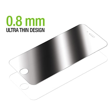 iPhone 7 7s Privacy Tempered Glass Screen Protector, 2 Packs