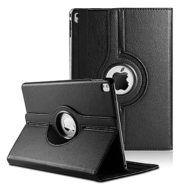 360 Rotating Leather Case for iPad Pro 9.7, Black (IPPLEA894)