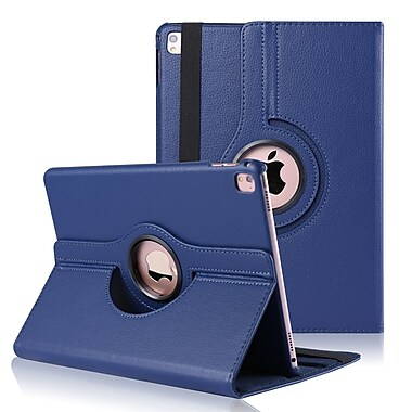 360 Rotating Leather Case for iPad Pro 9.7, Blue (IPPLEA896)