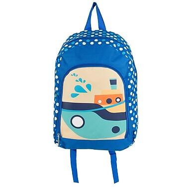 Elementary Kindergarden Kids Back to school bag Backpack, Boats