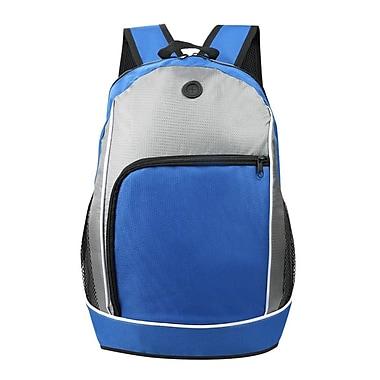 Back to school School Bag Backpack, Blue (BKPLEA302)