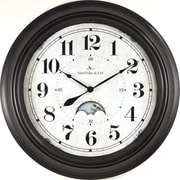 "FirsTime® Luna 15.5"" Wall Clock (25676)"